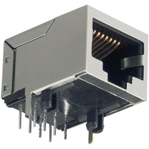 RJ45 Connector with Magnetic Tab Up