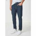 Mens Cotton Denim Stretchable Jeans