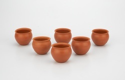 Clay Jully Cup Set (6 Piece)150ml