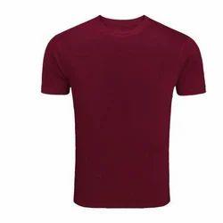 Cotton Round neck Mens Plain T-Shirt