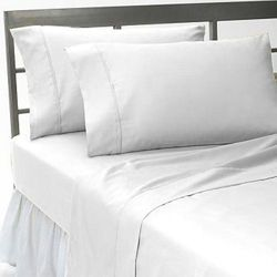 Cotton White Hospital Bed Sheet, Size: 42x84inch