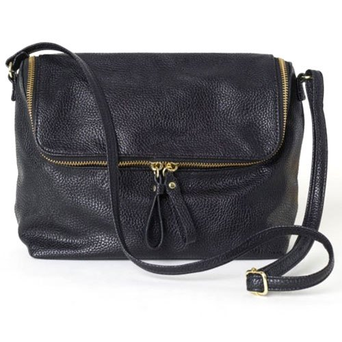 7555091c545 Black Leather Ladies Side Handbag, Rs 1200 /piece, Ansh Enterprises ...