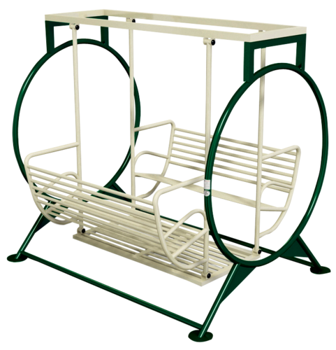 High Quality Steel 114mm & 3mm White & Green AKV-EXC-SC Swing Chair - Excellence Series