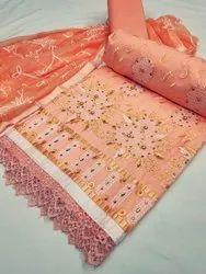 Indo Cotton Ladies Dress Material