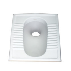 Orissa Pan White Indian Toilet