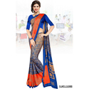 Italian Crepe Uniform Saree