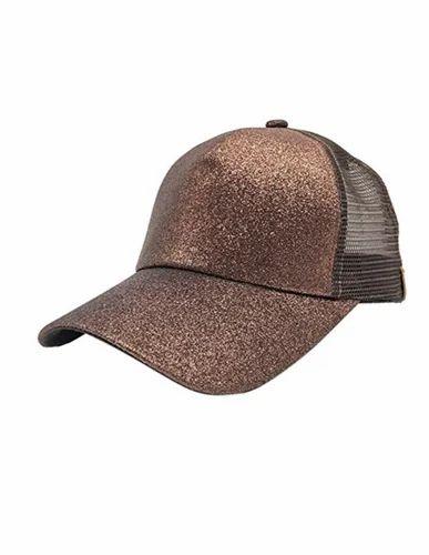 273b3ef782c20a Mesh Glitter Baseball Cap Hat with Adjustable Strap, Caps - Creative ...