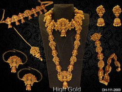 Temple Jewellery Dulhan Set