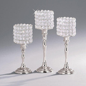 Crystal Candle Holder Wedding Table Ceterpiece