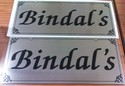 Bungalow Name Boards