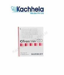 Cifran 750mg Tablets