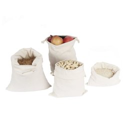 Cotton Muslin Reusable Bag