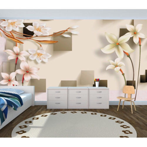 vinyl printed 3d customized wallpaper, size: customized, rs 60