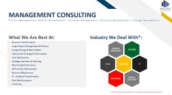 Consulting Management Sugar Plant Consultancy, Anywhere