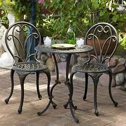 Cast Iron Furniture Set
