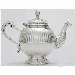 Elegant Silver Plated Tea Pot