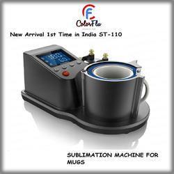 ST-110 Pneumatic Automatic Mug Printing Machine