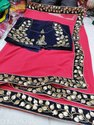 Heavy Saree With Designer Blouse