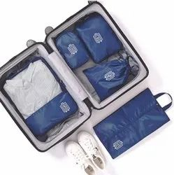 Polyester 5 Piece Packing Cubes Travel Pouch