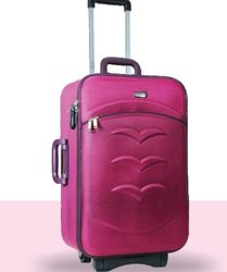 Pink Vogue Luggage Trolley, Size: 20, 24, 2
