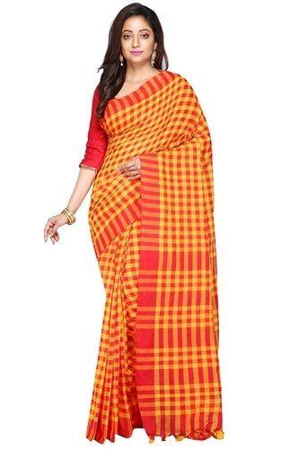 Fancy Bengali Cotton Saree