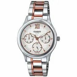 Men Round Casio-A1002 Wrist Watch