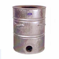 Silver Tandoor Drum for Restaurant, Hotel