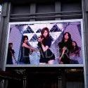 Street Advertising Panels Outdoor Pixel 8mm LED Display Screen