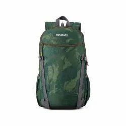 American Tourister 27.5 Ltrs Cam Olive Casual Backpack (AMT Pulse SCH Bag 02 CAM Olive)