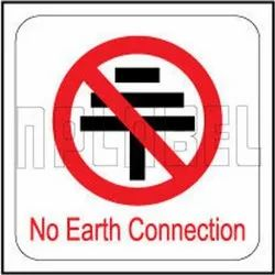 140642 No Earth Connection Sticker