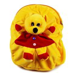Kids Yellow Red School Bag