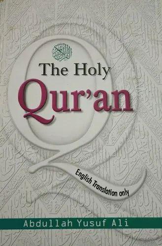 Holy Quran Colour English Translation Book