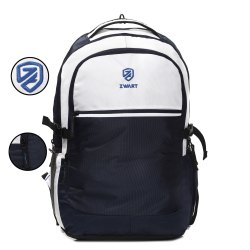 Rome-Expandable-Blue-W School Bag