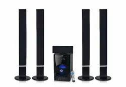 Black Yes K&K Tower Speakers Home theater, 220-240v, Model: kk-8532c