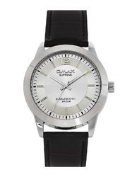 OMAX Analogue White Dial Men''s Watch - SS303
