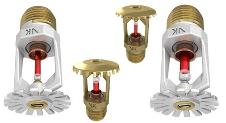 Viking Fire Sprinklers At Rs 165 Number Stainless Steel