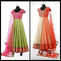 Party Wear Embroidered Ladies Fancy Anarkali Suit