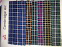 Dyed Linen Checks Fabric