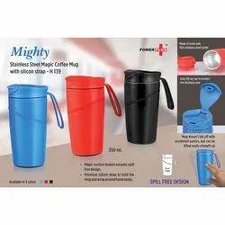 Plain Mighty Stainless Steel Magic Mug