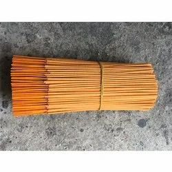 Religious Orange Metallic Raw Incense Sticks