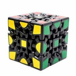Smartcraft V1 Gear 3X3 Cube - Black Puzzle (Train Your Brain)