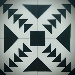 Lovely Patterned Cement Tiles