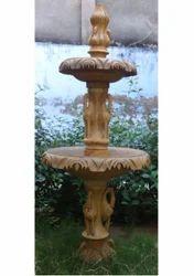Beige Sandstone Fountain