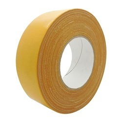 Yellow Double Sided Cloth Tape, for Binding