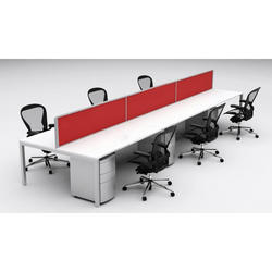 Plywood Call Center Workstations