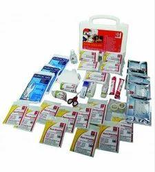 First Aid Kit Plastic Box Handy -  SJF BK