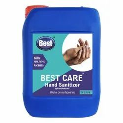 Alcohol Based Hand Rub/ Sanitizer, 5 Ltr Can