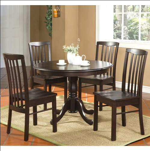 4 Seater Round Table Dining Set : round table dining set for 4 - Pezcame.Com