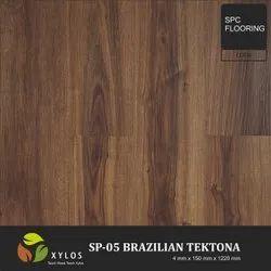 Brazilian Tektona SPC Wooden Flooring