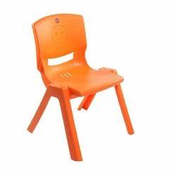 Cello Orange Play School Plastic Chair